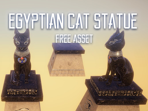 Egyptian Tomb: Cat Statue