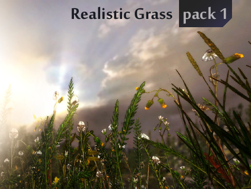Realistic Grass Pack 1