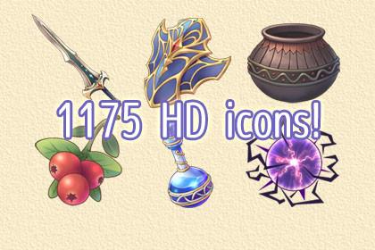 HD Icons Pack Vol.1
