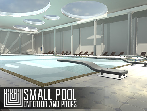 Small pool - interior and props