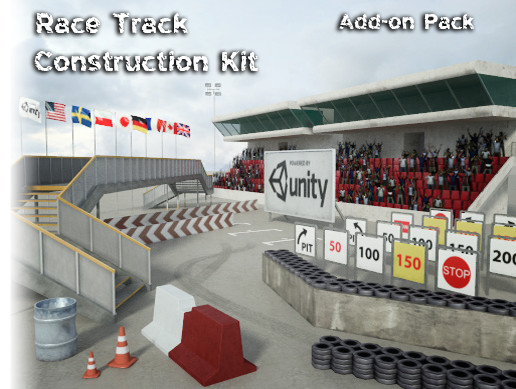 Race Track Construction Kit: Add-on Pack A