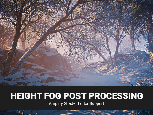 [BETA] Height Fog for Post Processing Stack 2