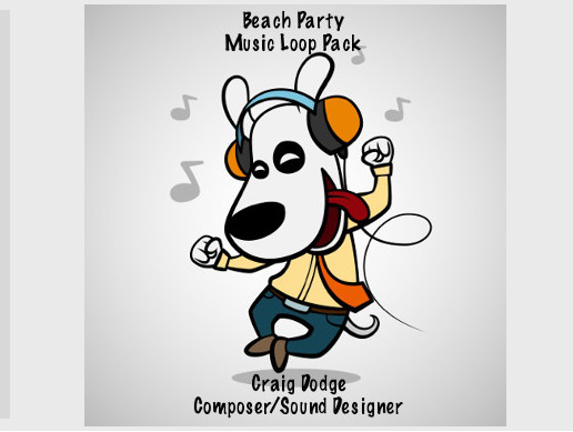 Beach Party Music Loop Pack