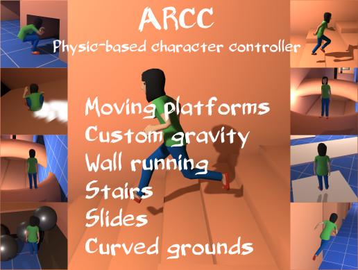 Alternative Rigidbody Character Controller - ARCC - Asset Store