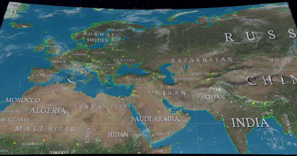 World Map Strategy Kit 2