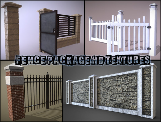 Fence Package HD Textures