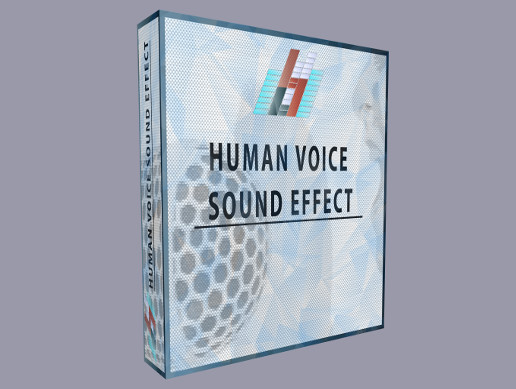 Human Male Voice Breathing and Onomatopoeia