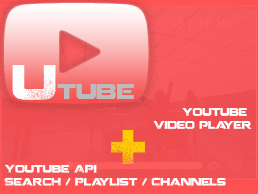 Youtube Video Player + Youtube API V3 - Asset Store