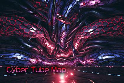 Cyber Tube Map