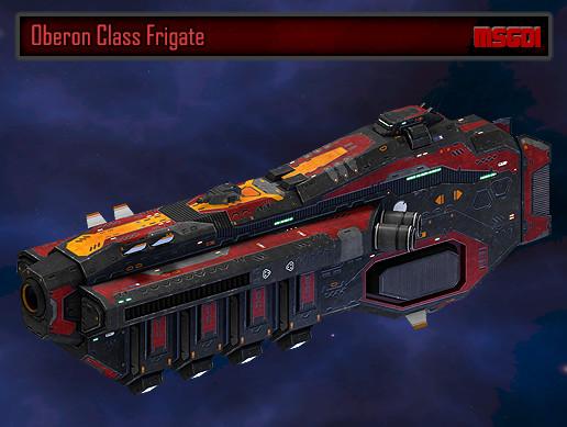 Scifi Frigate Oberon