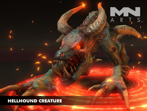 Hellhound Creature