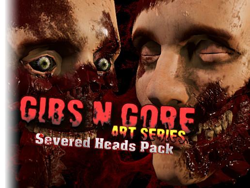 Gibs N Gore - Severed Heads Pack