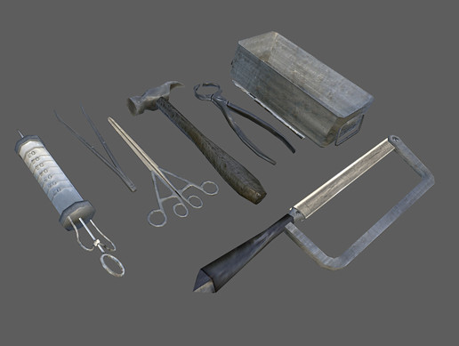 Medical Tools Set