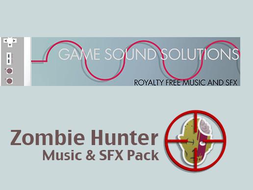 Zombie Hunter SFX and Music Packs