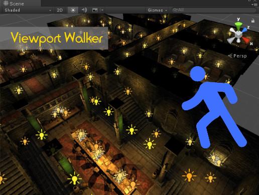 Viewport Walker + Only Renderer