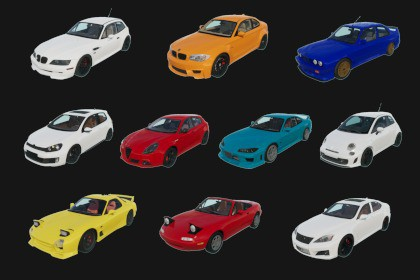 Car Pack - Vehicles #1