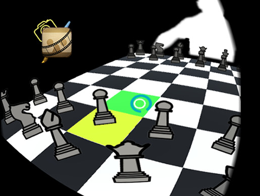 VR chess game Concept