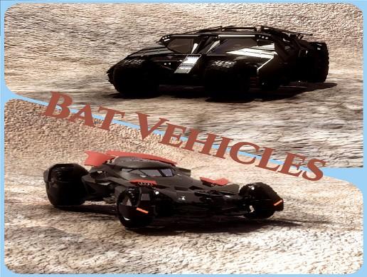 Bat Vehicles
