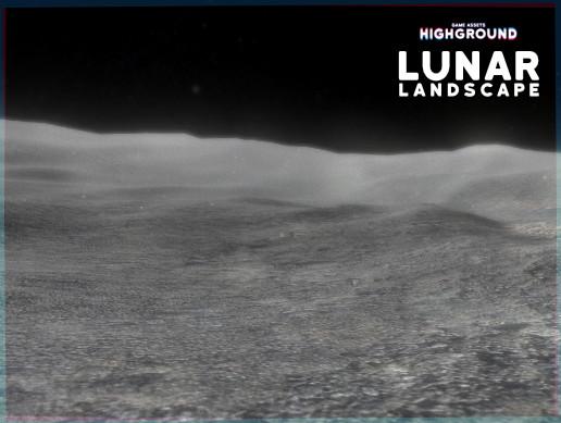 Lunar Landscape 3D