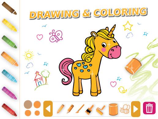 پروژه کامل یونیتی Drawing & Coloring Extra Edition