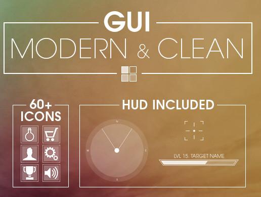 Modern & Clean GUI - Asset Store