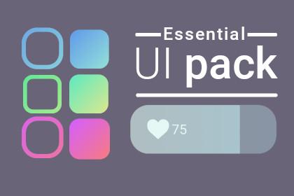 Sleek essential UI pack
