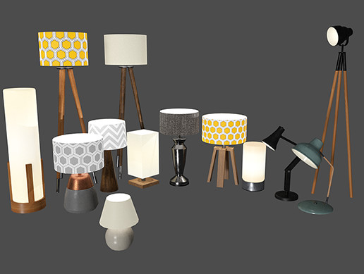 Home and Office Lamps Pack