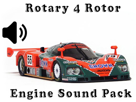 Rotary 4 Rotor - Engine Sound Pack