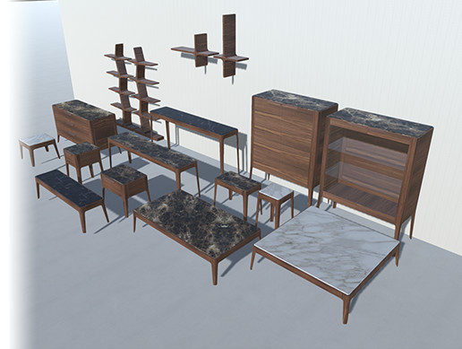 Marble Furniture Pack