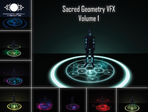 Sacred Geometry VFX Volume 1