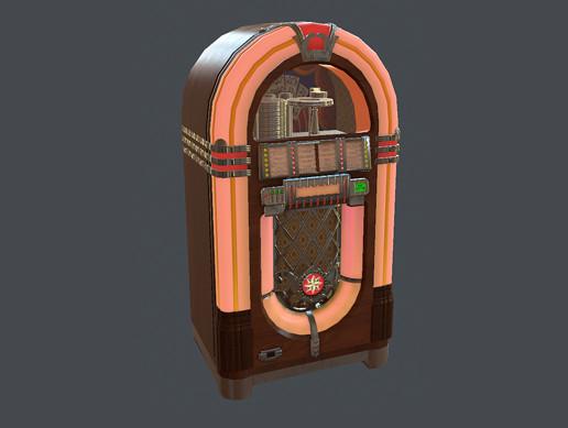 Classic Jukebox - Asset Store