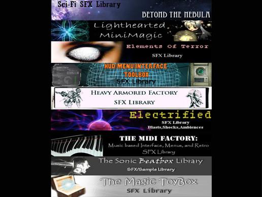 9 Audio Libraries Bundle - Asset Store