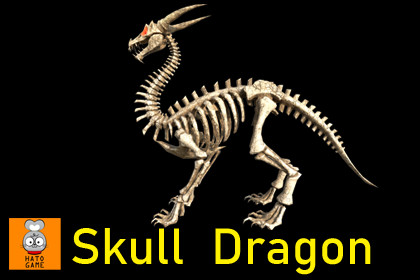 Skull dragon boss monster