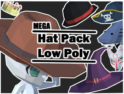Mega Hat Pack Low Poly