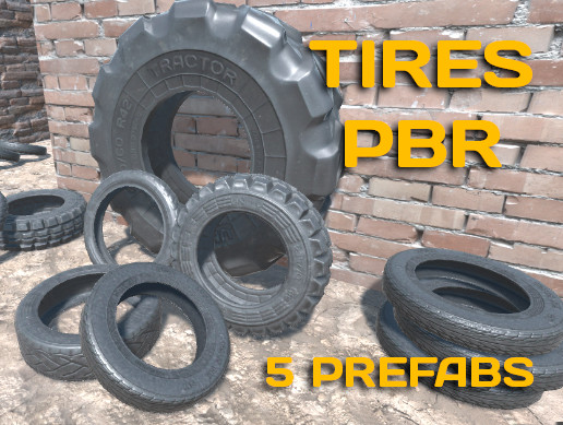 3D Pack of Tires