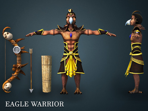 Eagle Warrior Pack