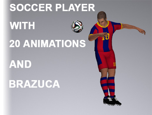 Soccer Player 9615 Tris