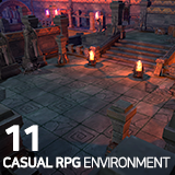 Casual RPG Environment 11