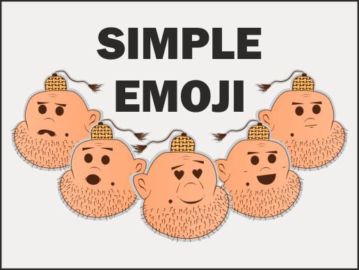 Simple emoji