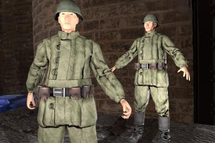 Soldier russian WWII - WarArm