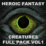HEROIC FANTASY CREATURES FULL PACK Volume 1