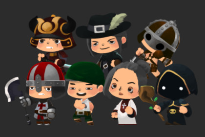 2D SD Character Pack V.2