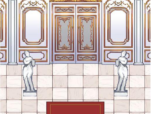 Rococo pixel art asset FREE