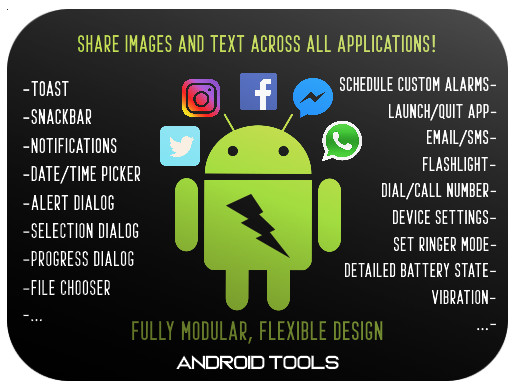 Android Tools Pro - Arsenal of Native Tools - Asset Store