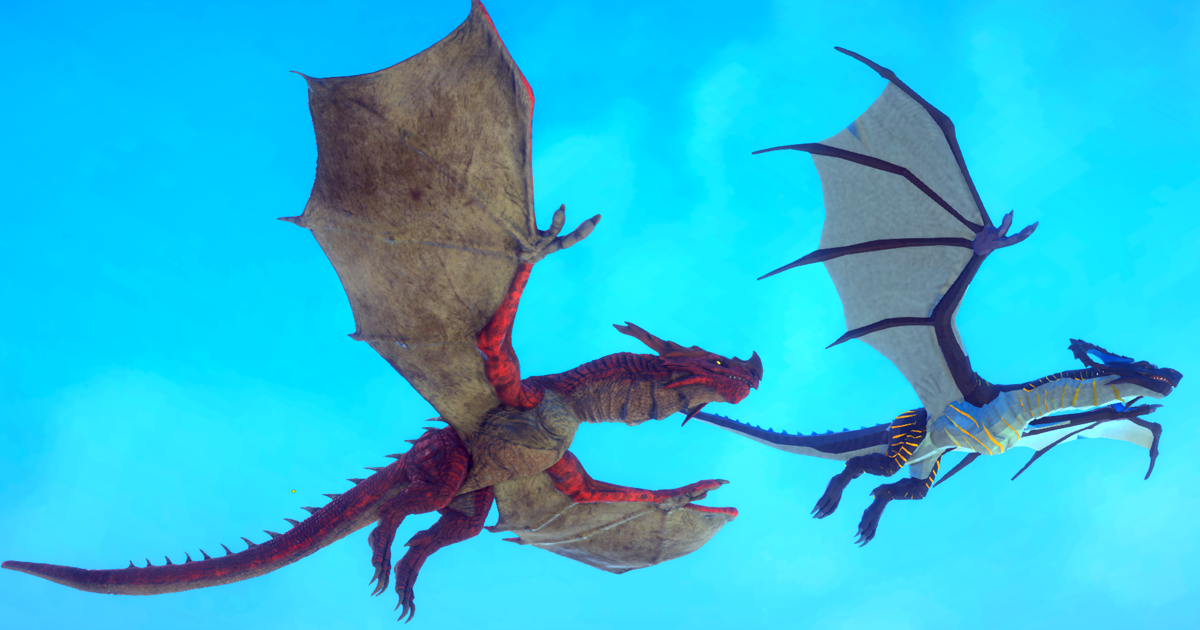 Irval The Wyvern 3d Creatures Unity Asset Store