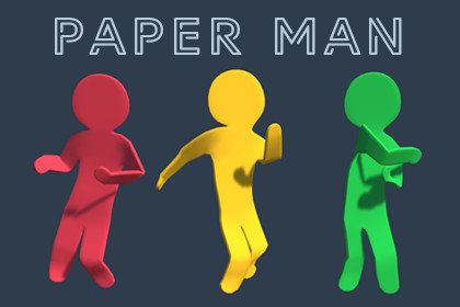 Paper man | Hyper-Casual Characters