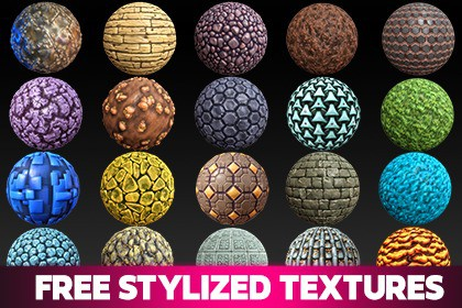 Free Stylized Textures