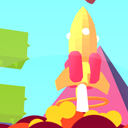 Rocket Jump Procedural Game