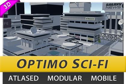 Atlased Sci-Fi City #1