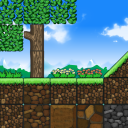 Too Cube Forest, the free 2D platformer game tile set.